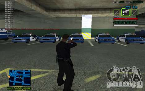 C-HUD by SampHack v.2 для GTA San Andreas