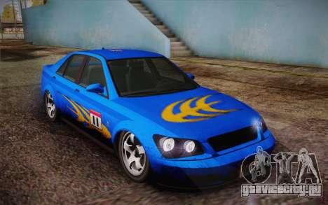 Sultan из GTA 5 для GTA San Andreas салон