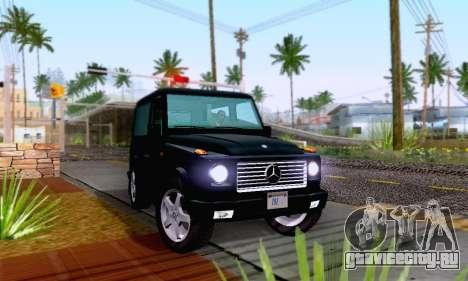 Mercedes-Benz G500 1999 Short для GTA San Andreas вид справа