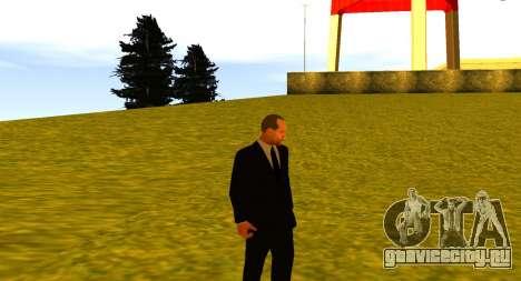 Jason Statham для GTA San Andreas пятый скриншот