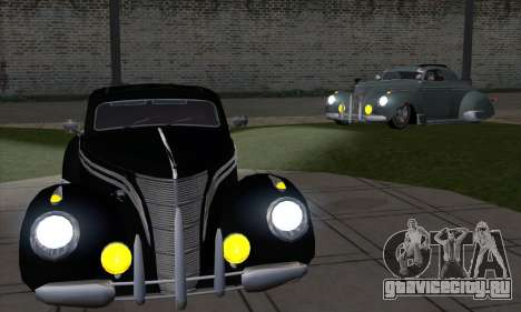 Lincoln Zephyr 1946 для GTA San Andreas вид справа