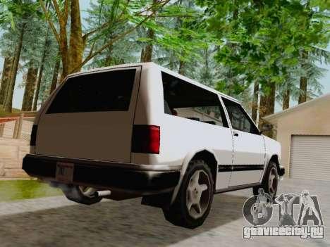 Landstalker Сoupe для GTA San Andreas вид справа