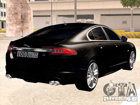 Jaguar XFR для GTA San Andreas вид справа