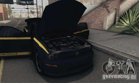 Ford Mustang Shelby Terlingua 2008 NFS Edition для GTA San Andreas вид сбоку