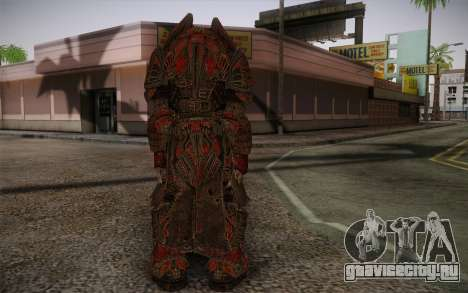 Theron Guard Cloth From Gears of War 3 v1 для GTA San Andreas второй скриншот
