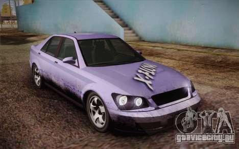 Sultan из GTA 5 для GTA San Andreas двигатель