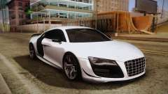 Audi R8 GT 2012 для GTA San Andreas