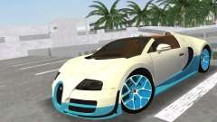 Bugatti Veyron Grand Sport Vitesse для GTA Vice City