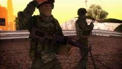 Пулеметчик спецназа ВВ МВД