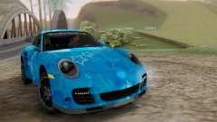 Porsche 911 Turbo Blue Star