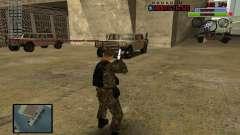 C-HUD by Mr.Bim для GTA San Andreas