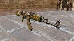 Автомат АК-47 Hex для GTA 4