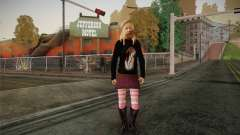Avril Lavigne для GTA San Andreas
