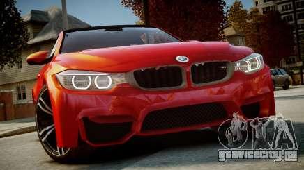 BMW M4 Coupe 2014 v1.0 для GTA 4