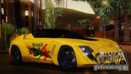 Bertone Mantide World Brasil 2010 для GTA San Andreas