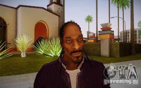 Snoop Dogg Skin для GTA San Andreas третий скриншот
