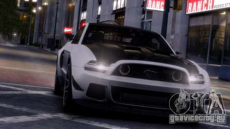 Ford Mustang GT 2014 Custom Kit для GTA 4 салон