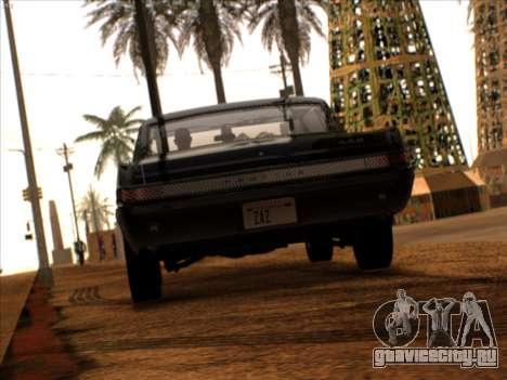 Lime ENB v1.1 для GTA San Andreas четвёртый скриншот