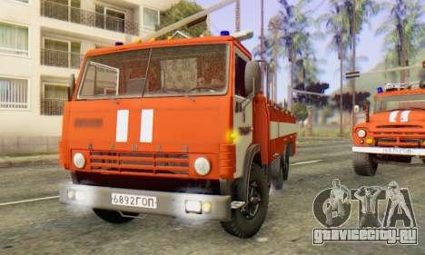 КамАЗ 53212 АП-5 [IVF] для GTA San Andreas вид слева