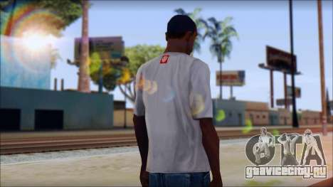 Element T-Shirt для GTA San Andreas второй скриншот