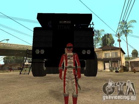 Power Rangers Operation Overdrive для GTA San Andreas
