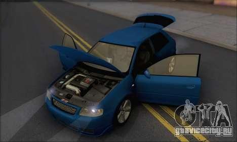 Audi A3 1999 для GTA San Andreas вид сбоку