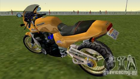 Kawasaki GPZ900R Ninja Tuned для GTA Vice City вид слева