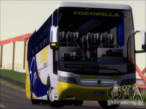 Busscar Vissta Buss LO Mercedes Benz 0-500RS для GTA San Andreas вид сверху