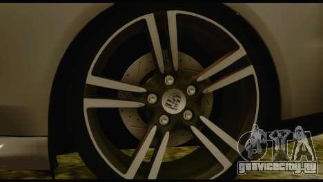 Porsche Panamera GTS для GTA San Andreas вид сзади слева
