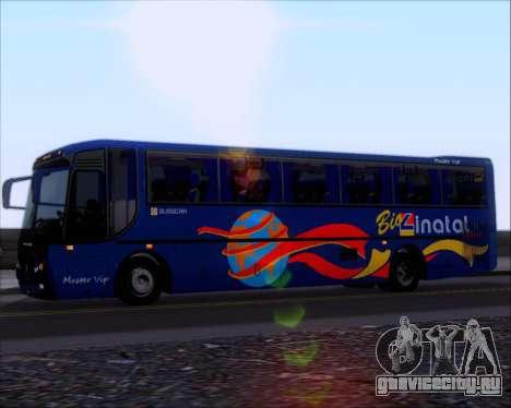 Busscar El Buss 340 Bio Linatal для GTA San Andreas вид сзади