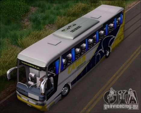 Busscar Vissta Buss LO Mercedes Benz 0-500RS для GTA San Andreas вид сбоку