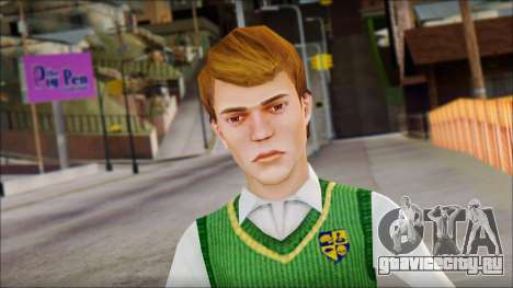 Earnest from Bully Scholarship Edition для GTA San Andreas