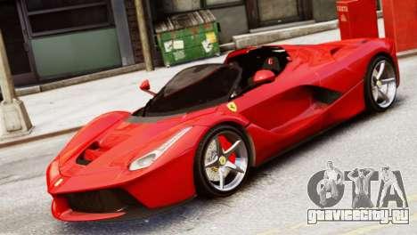 Ferrari LaFerrari Spider для GTA 4