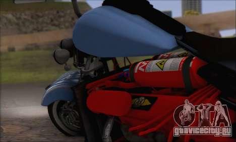 Boss Hoss v8 8200cc для GTA San Andreas вид сзади