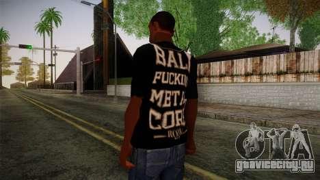 Room 401 T- Shirt для GTA San Andreas