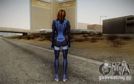 Ashley from Mass Effect 3 для GTA San Andreas второй скриншот