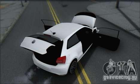 Volkswagen Polo для GTA San Andreas салон