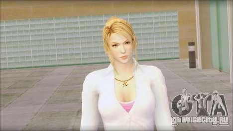 Sarah from Dead or Alive 5 v1 для GTA San Andreas третий скриншот