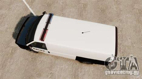 Vapid Speedo Los Santos Police [ELS] для GTA 4 вид справа