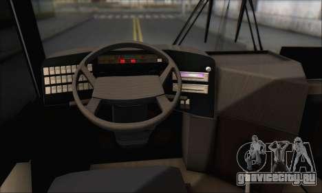 Sada Bahar Coach для GTA San Andreas вид сверху