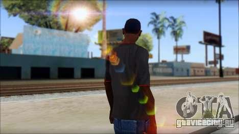 I love my gun T-Shirt для GTA San Andreas второй скриншот