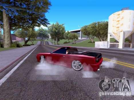 Elegy Cabrio HD для GTA San Andreas вид справа