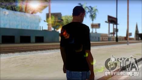 Max Cavalera T-Shirt v2 для GTA San Andreas второй скриншот