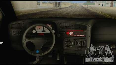Volkswagen MK3 deLidoLu Edit для GTA San Andreas вид сзади слева
