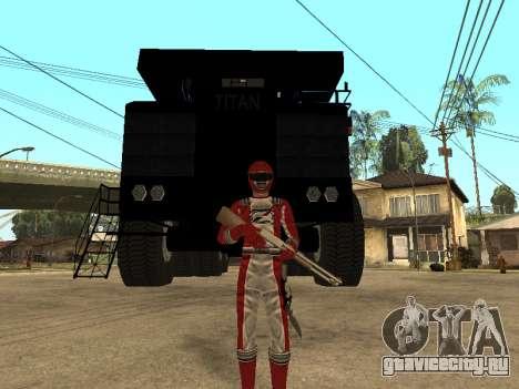 Power Rangers Operation Overdrive для GTA San Andreas второй скриншот