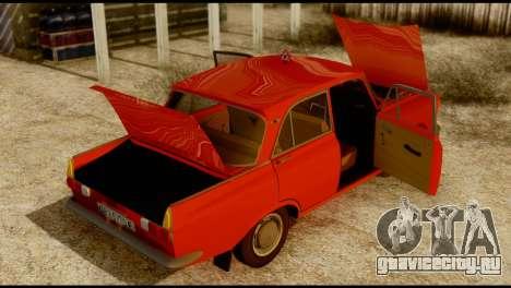 Москвич 412У для GTA San Andreas вид сбоку