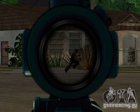 Sniper skope mod для GTA San Andreas
