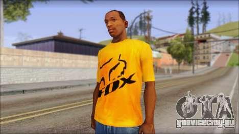 Cj Fox T-Shirt для GTA San Andreas