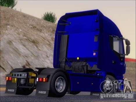 Iveco Stralis HiWay 560 e6 4x2 для GTA San Andreas вид сзади