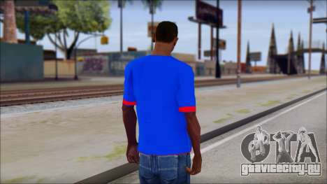 Superman T-Shirt v1 для GTA San Andreas второй скриншот
